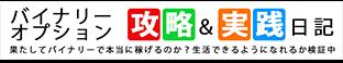 バイナリーオプション必勝法&攻略実践日記 - 目指せ月収10万円